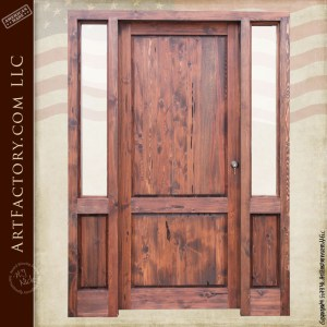 Elegant Custom Wood Door