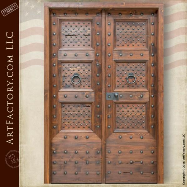 Spanish Renaissance style door