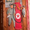 vintage Texaco Station theme door