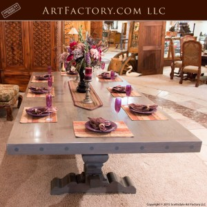 custom handcrafted wooden dining table