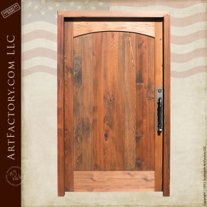 medieval style solid wood entrance door