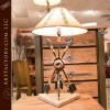 Southwest style arrow lamp
