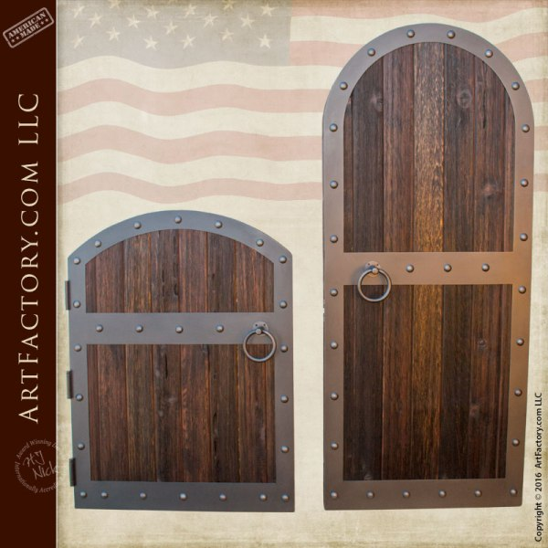 Fortified Medieval Raised Grain Wood Gates