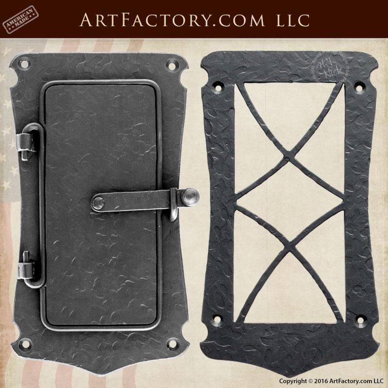 Genial Hand Textured Medieval Speakeasy Door Viewer Hand Textured Medieval Speakeasy  Door Viewer