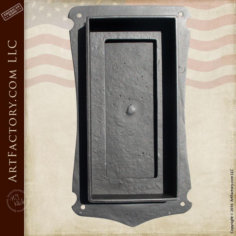 Medieval Speakeasy Door Viewer Textured By Hand