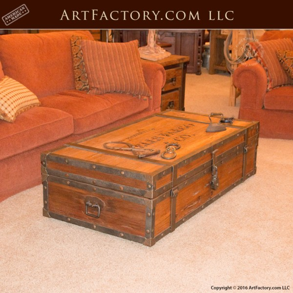 Wells Fargo Coffee Table