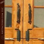 Classic Hand Forged Iron Custom Door Pulls