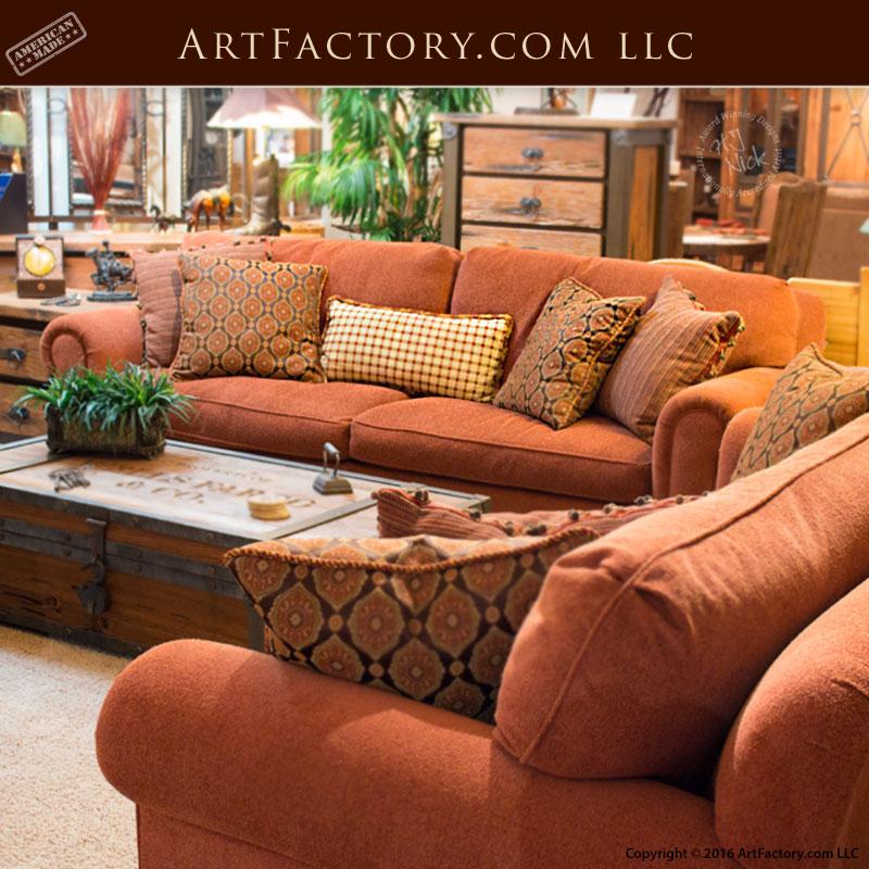 custom goose down sofa