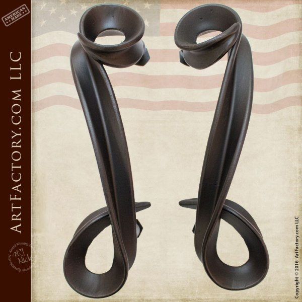 Castle Door Hardware Inspired by Malaspina Castello