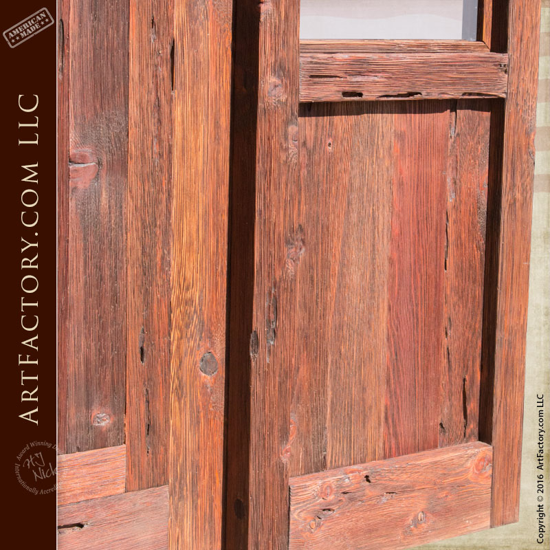 Custom wood exterior door door with sidelight for Wooden front doors fitted