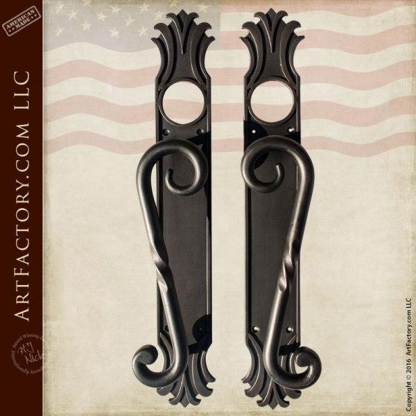 Door Handles | Custom Doors Pulls | Wrought Iron Door Knobs