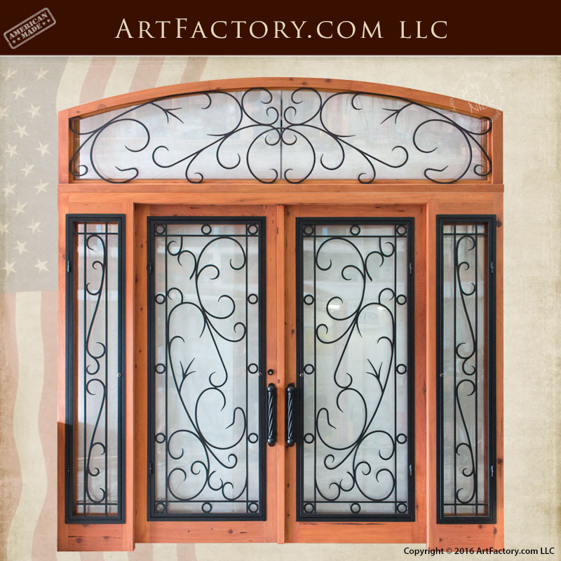 grand entrance double doors