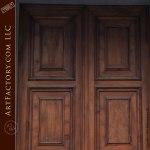 Rome collection custom entrance door