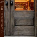 custom Italian style doors