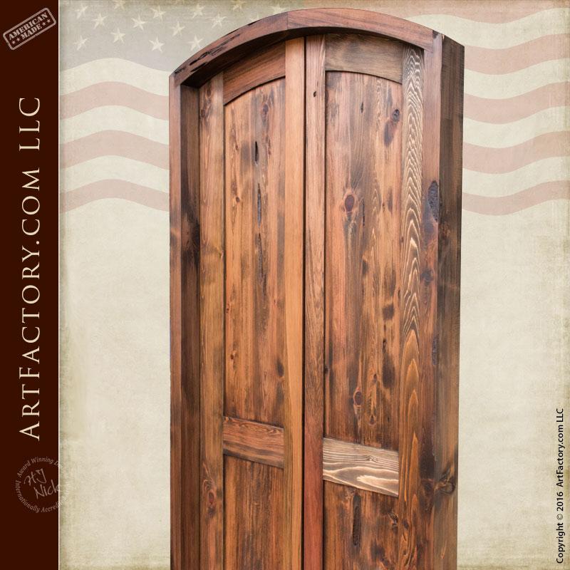 slim entry double doors