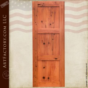 Classic Custom Pocket Door - Space Saving Solid Wood Door