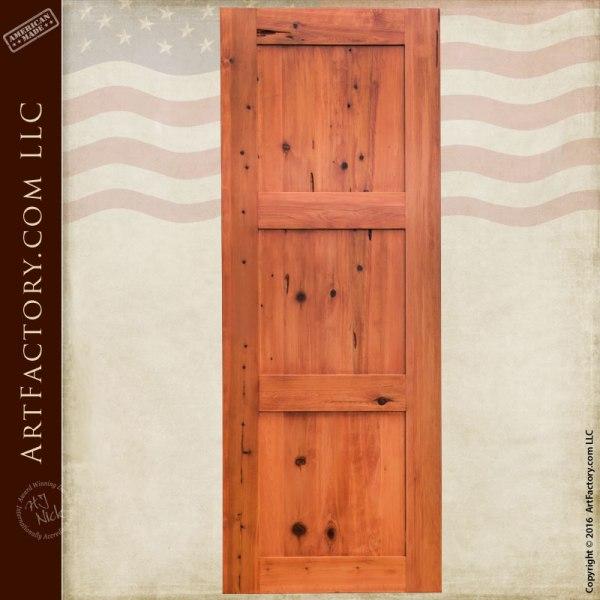 Classic Custom Pocket Door - Space Saving Solid Wood Door