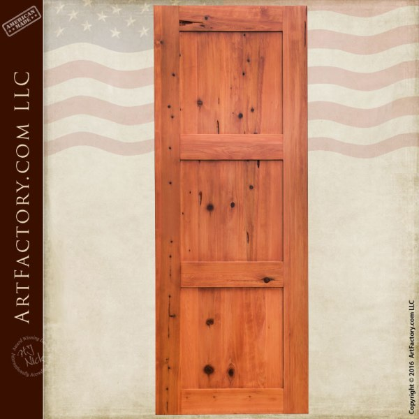 custom classic wood door