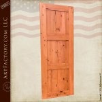 custom classic wood door