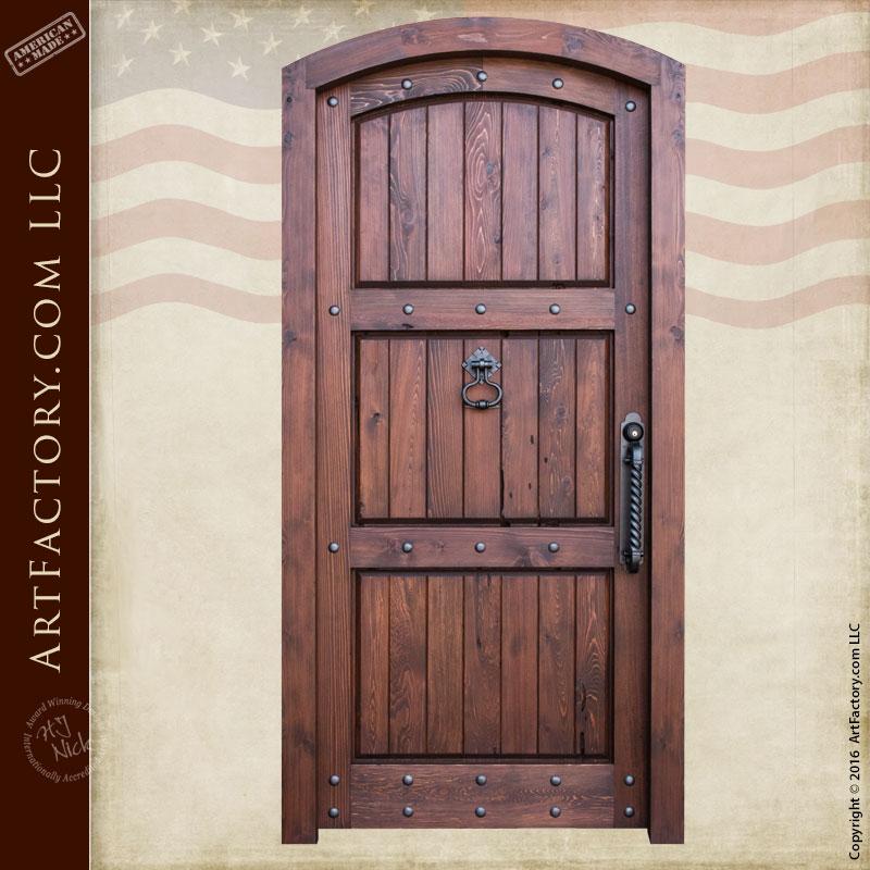 3 Panel Vertical Plank Door