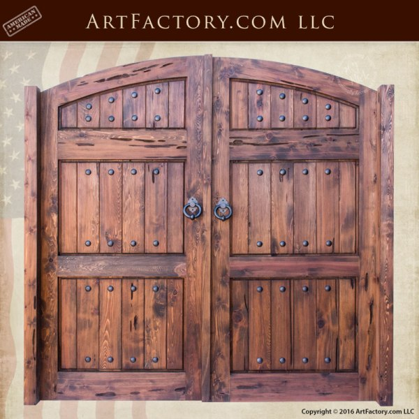 solid wood carriage doors garage doors