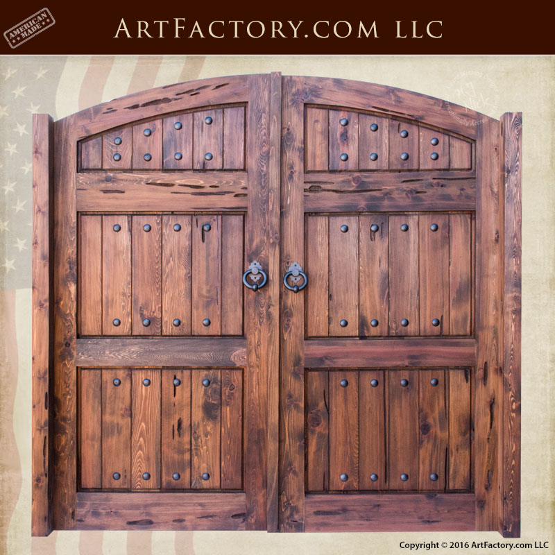 Solid Wood Carriage Doors