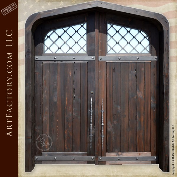 cathedral style entry doors
