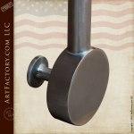 Pendulum Hand Forged Custom Door Pulls