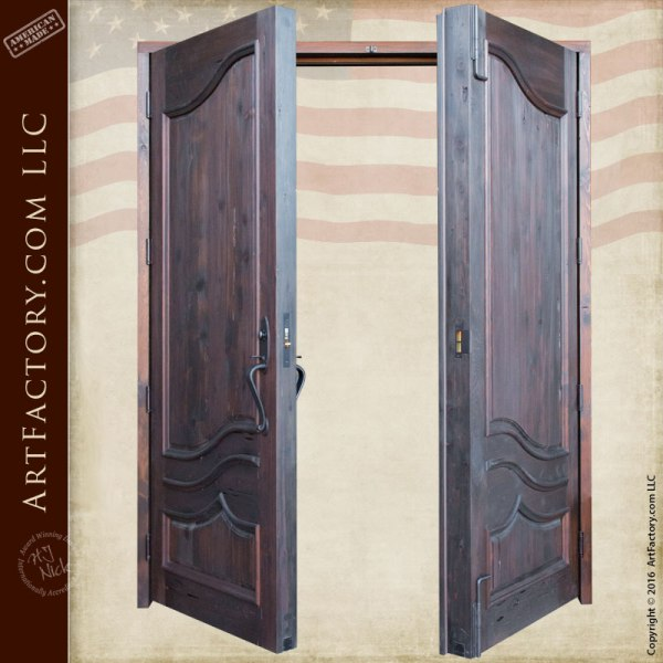Solid wood front entry doors european double doors for European entry doors