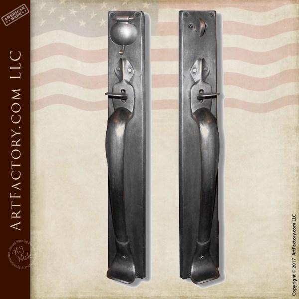 custom lever style castle door handles