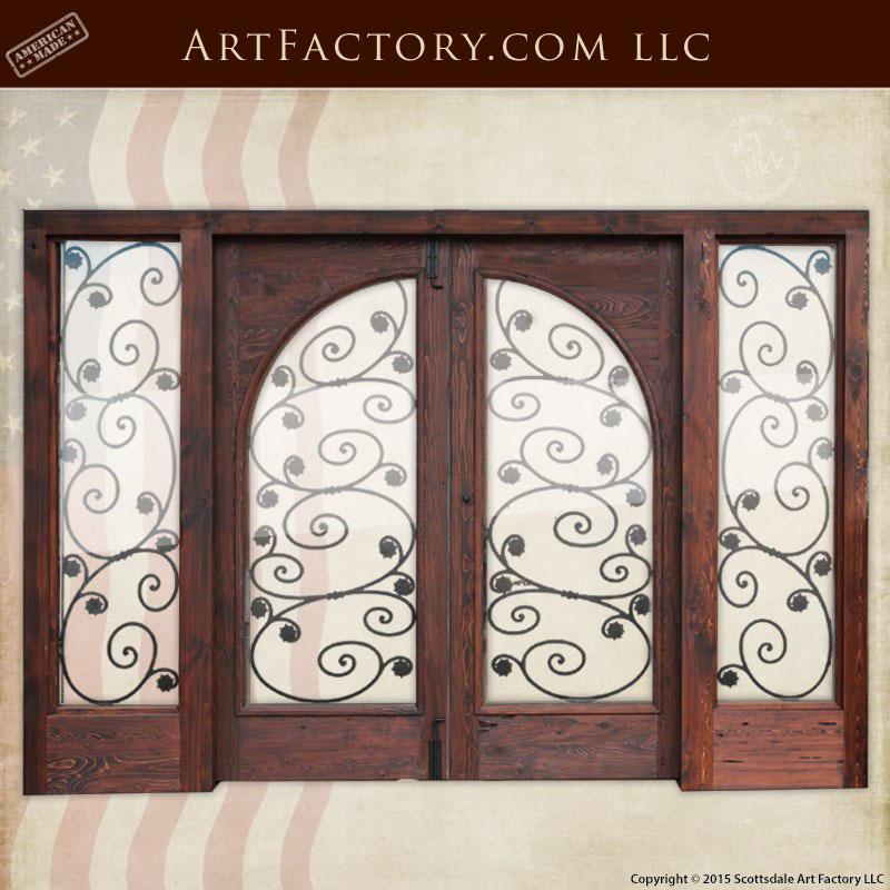 Art Nouveau French Doors