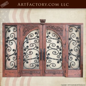 Art Nouveau French Doors