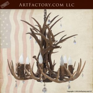 antler lighting chandelier