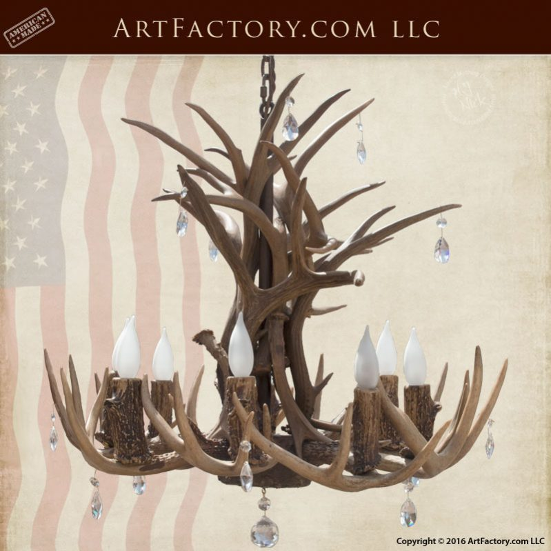 Antler Lighting Custom Made With Swarovski Crystals U2013 EAC105