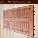 custom craftsman style garage door
