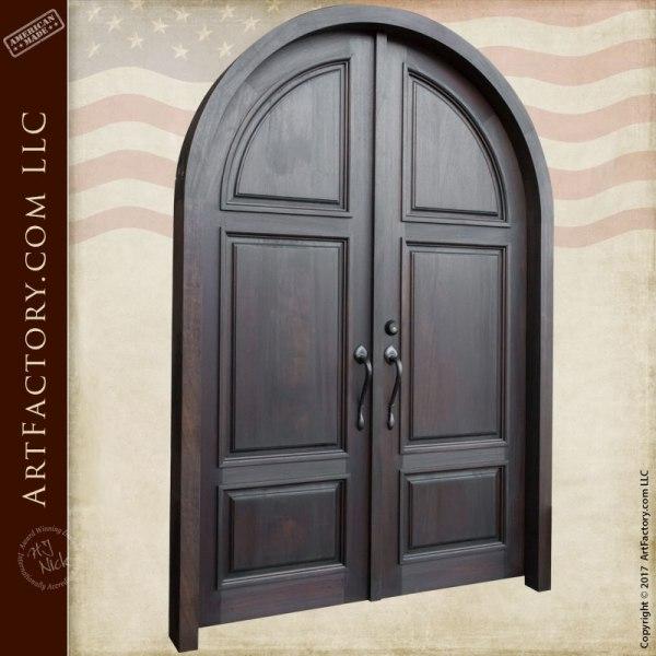 Custom Wooden Doors - Solid Wood Entry Doors - Scottsdale Art Factory
