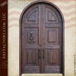 arched Roman doors