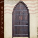 arched cathedral door