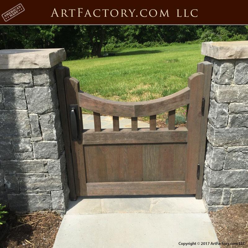Merveilleux Wooden Garden Gate Wooden Garden Gate
