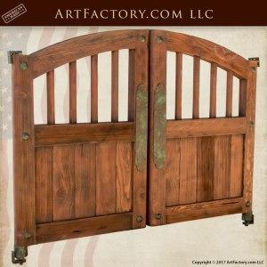 custom saloon doors