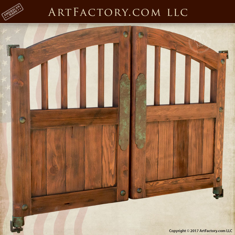 True Western Style Saloon Doors u2013 Hand Forged Iron Hardware u2013 SWD4236 & Western Style Doors: Hand Forged Fine Art Custom Hardware