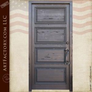 four panel custom door