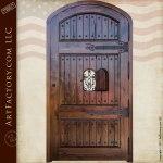 custom door with speakeasy