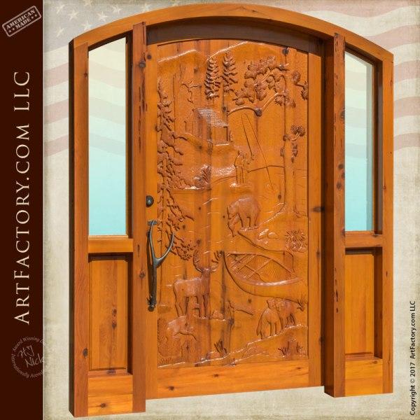 cabin entrance door
