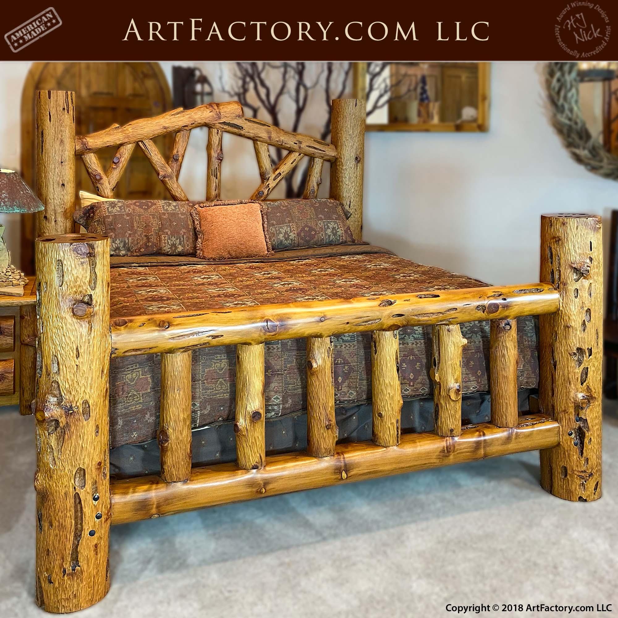 Custom Lodge Bed