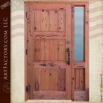 fortress style door craftsman wood doors