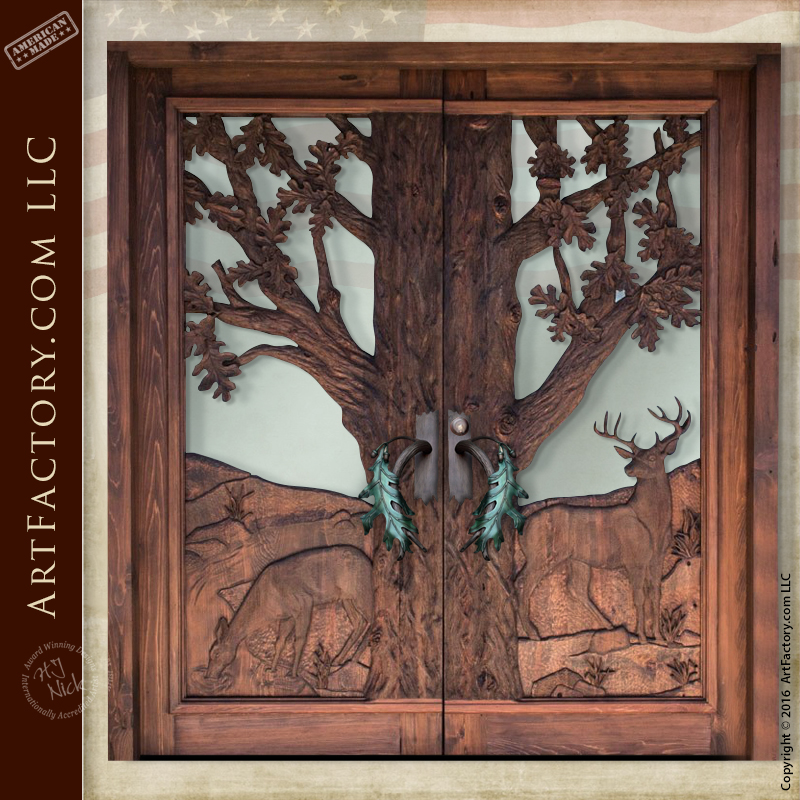 oak-tree-carved-door