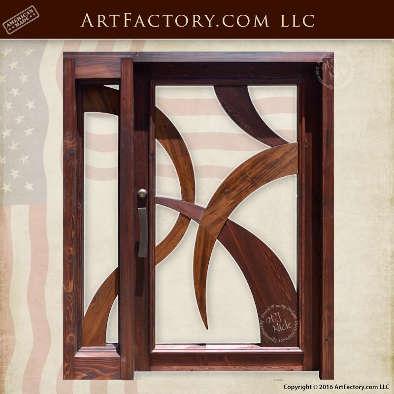 Modern Art Style Door Contemporary Art Deco Style Entrance \u2013 DG1406 & Art Deco doors Archives - ArtFactory.com