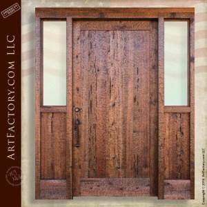 Solid Wood Exterior Door