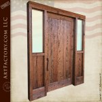 Solid Wood Exterior Door